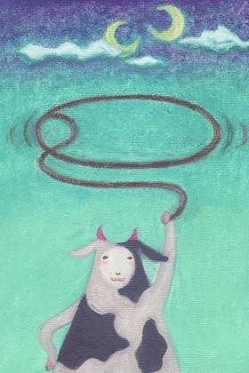 くるくる牛